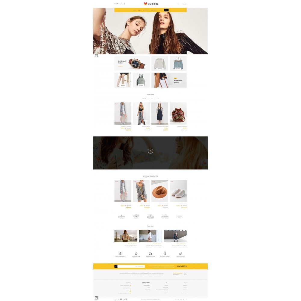 theme - Mode & Schoenen - Lucca - Apparel store - 10