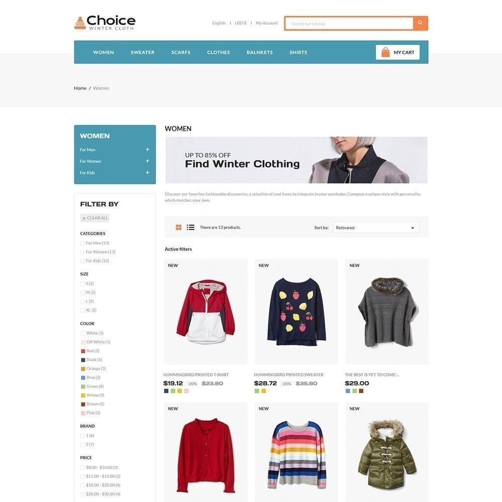 theme - Fashion & Shoes - Choice Fashion Store - 2