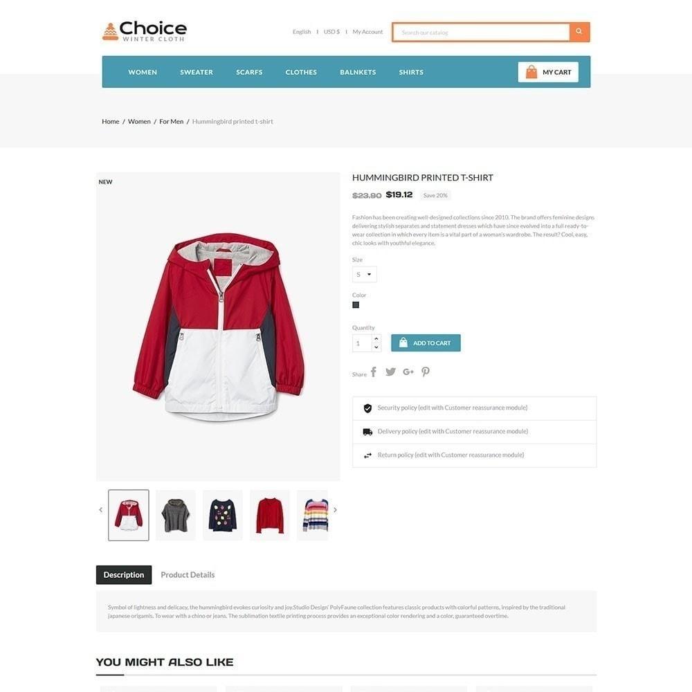theme - Fashion & Shoes - Choice Fashion Store - 4