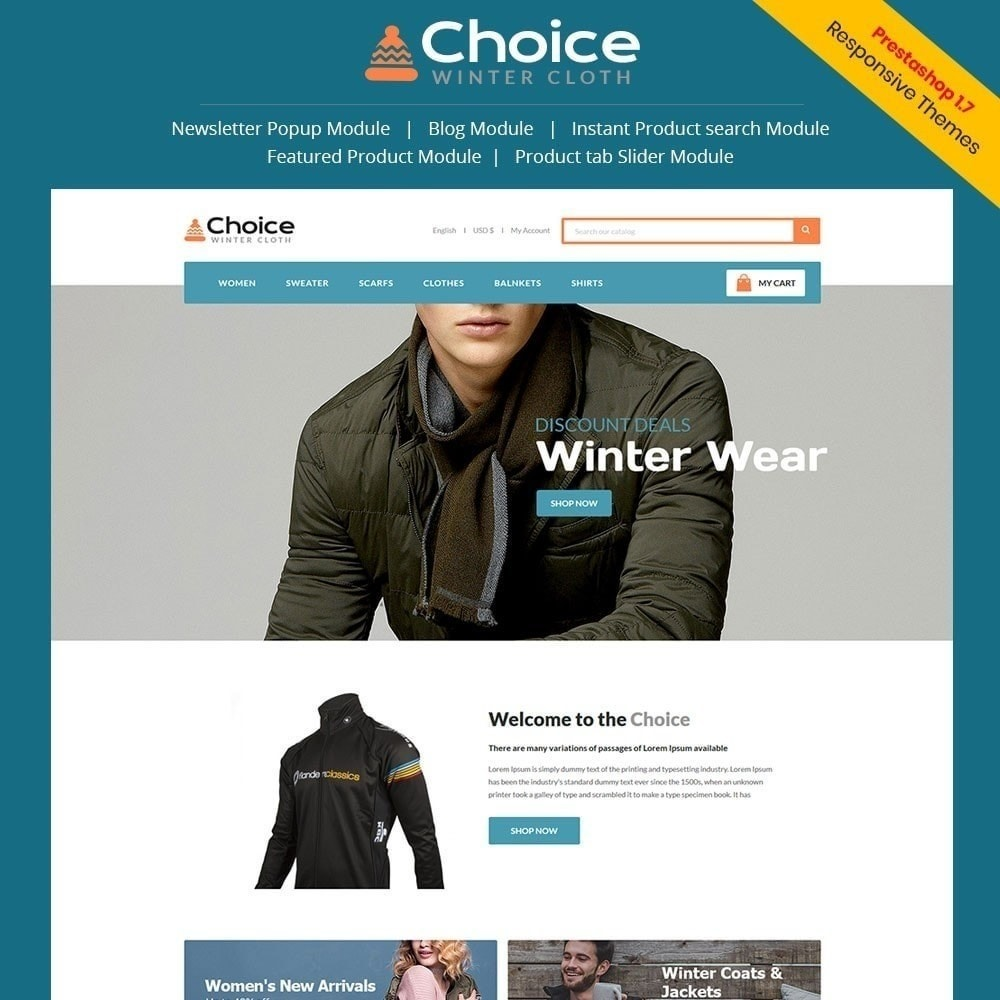 theme - Mode & Schuhe - Choice Fashion Store - 1