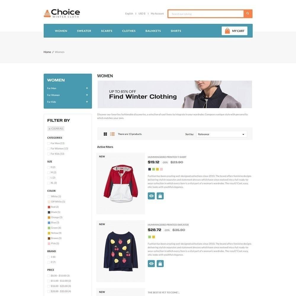 theme - Мода и обувь - Выбор магазина одежды - 3