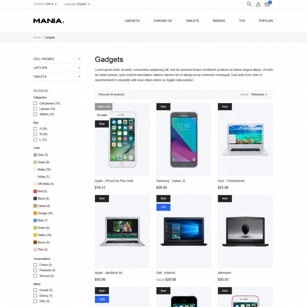 theme - Eletrônicos & High Tech - Mania - High-tech Shop - 5
