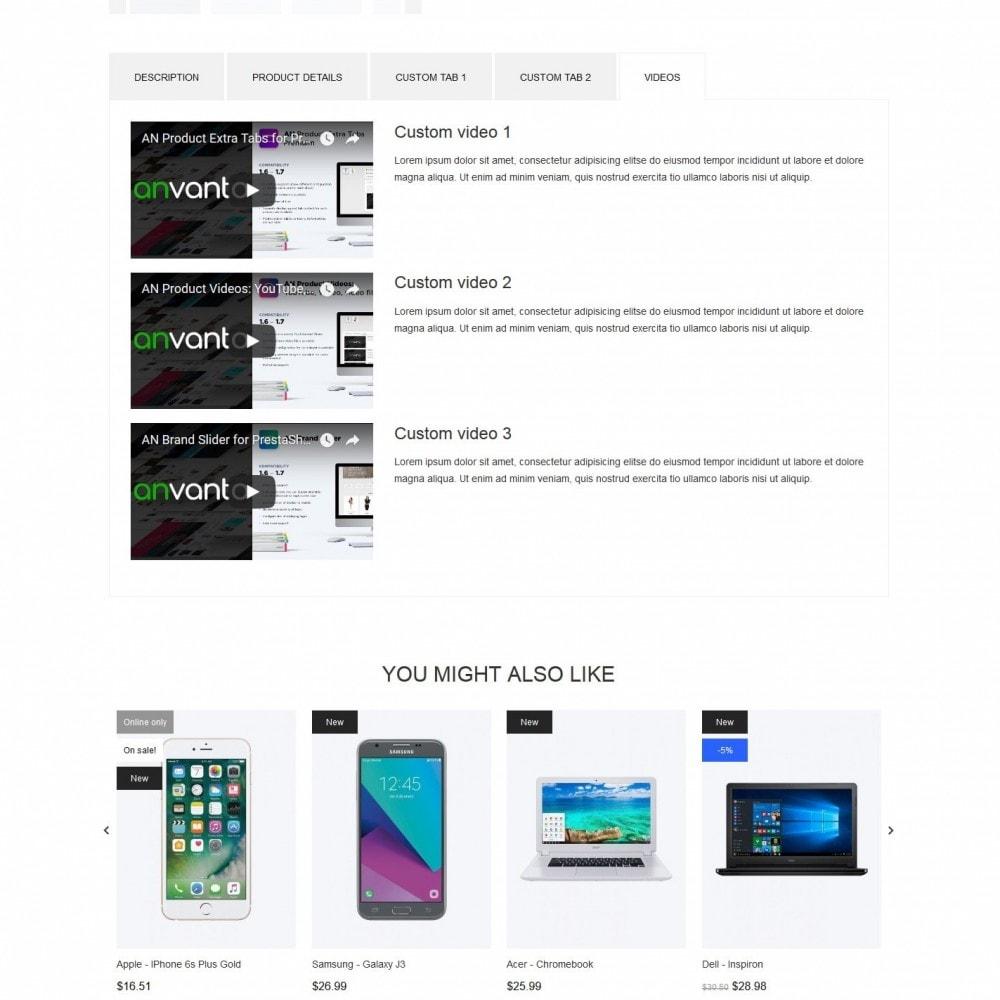theme - Eletrônicos & High Tech - Mania - High-tech Shop - 9