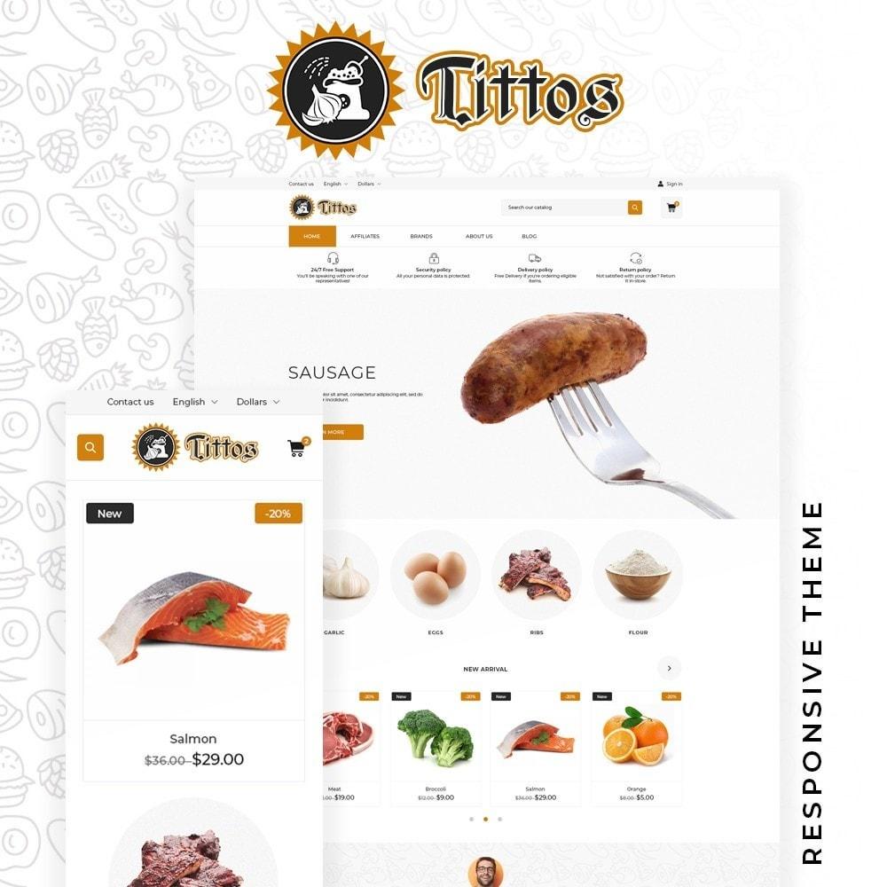 theme - Alimentos & Restaurantes - Tittos - 1