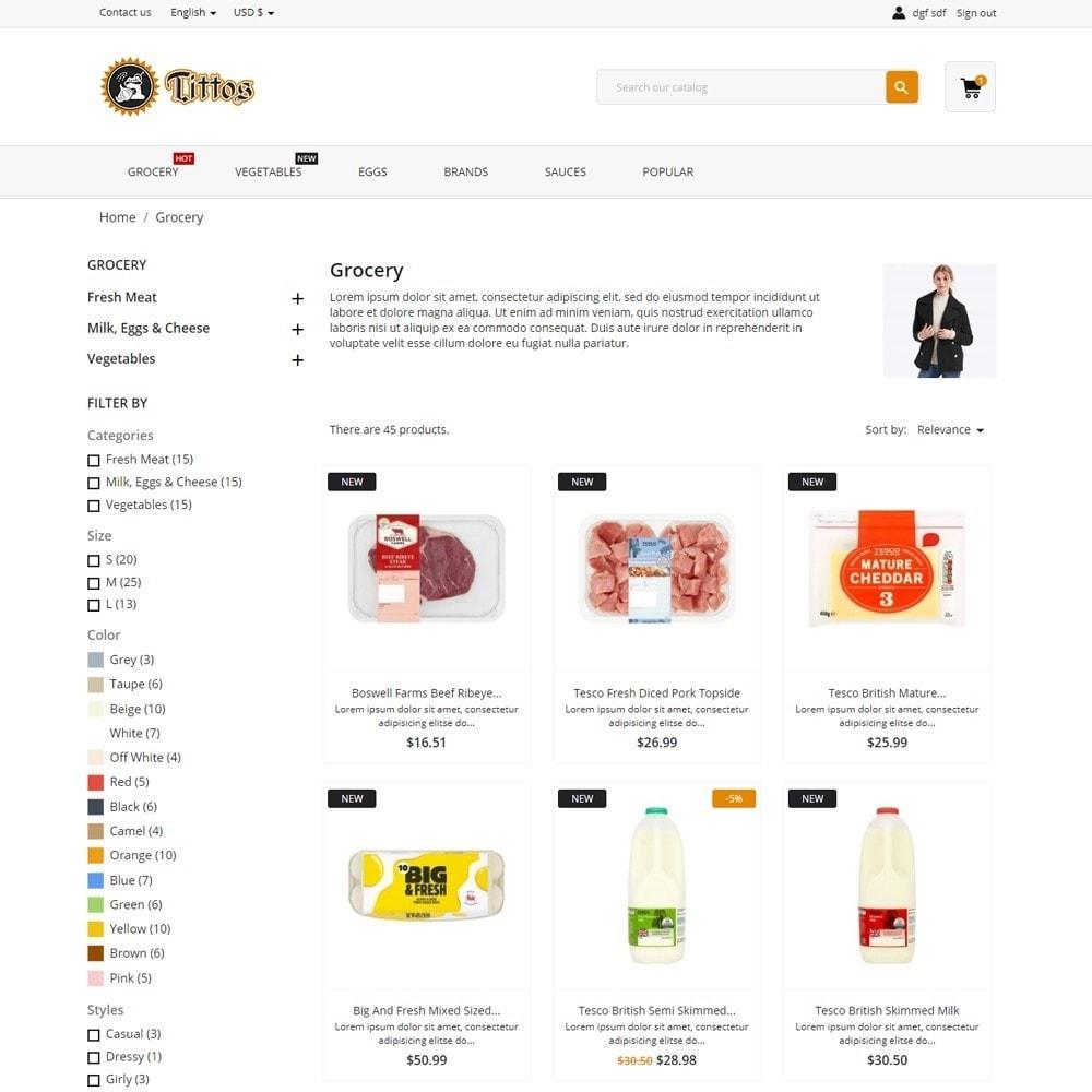 theme - Alimentos & Restaurantes - Tittos - 5