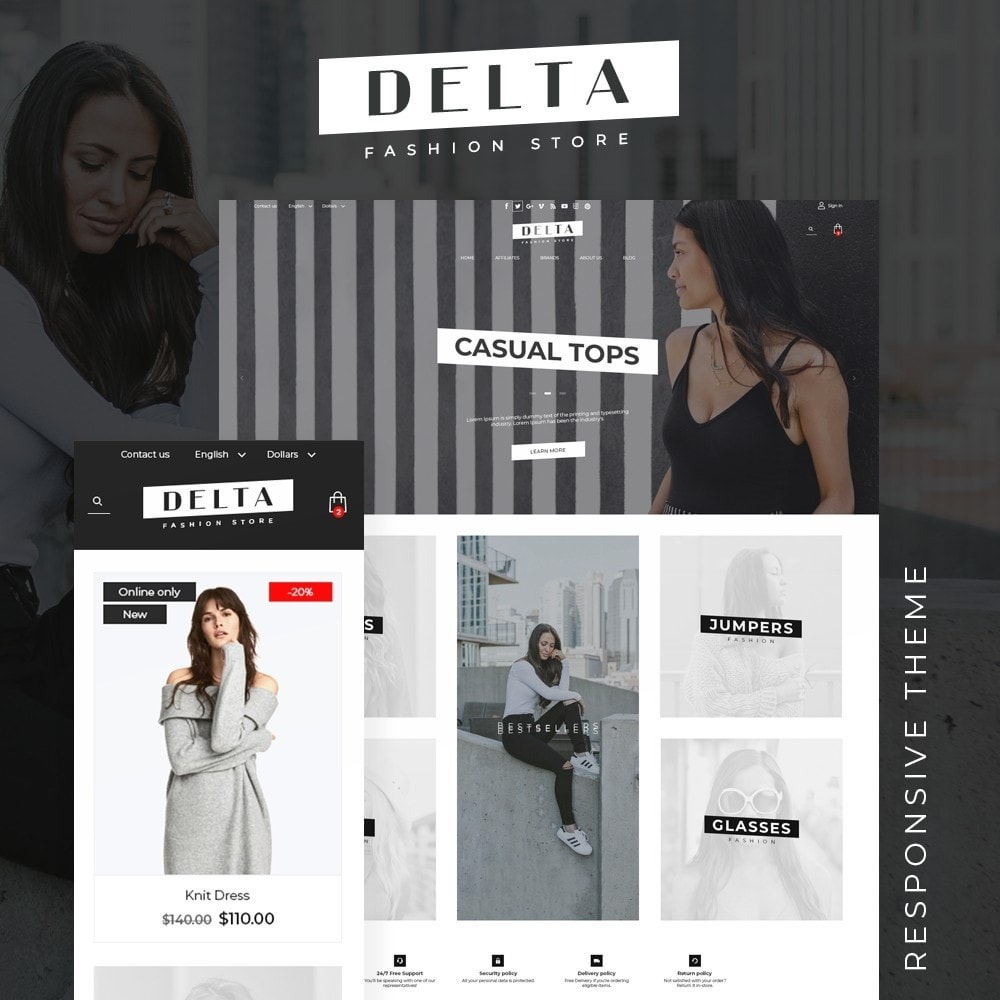 theme - Mode & Schoenen - Delta Fashion Store - 1