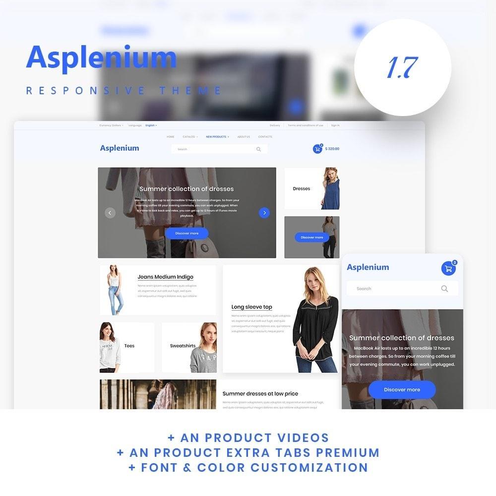theme - Fashion & Shoes - Asplenium Fashion Store - 1