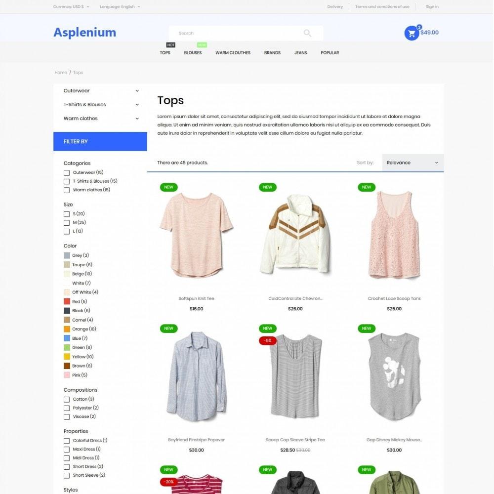 theme - Fashion & Shoes - Asplenium Fashion Store - 5