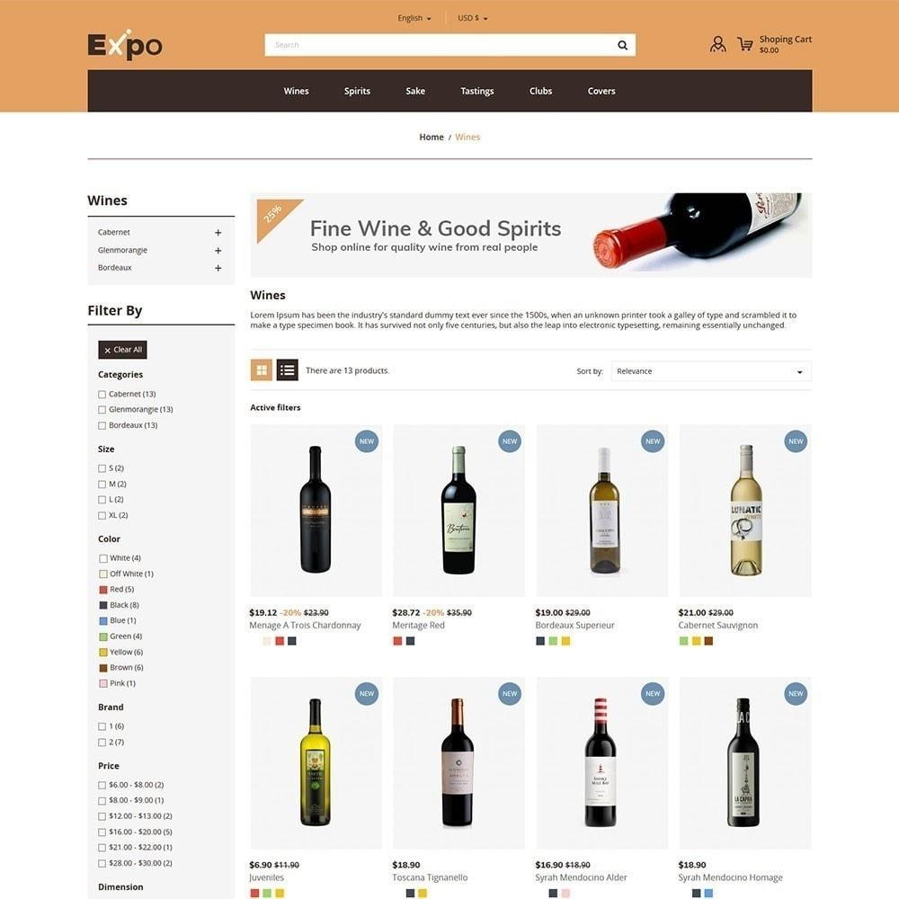 theme - Bebidas & Tabaco - Expo - Loja de Vinhos - 4