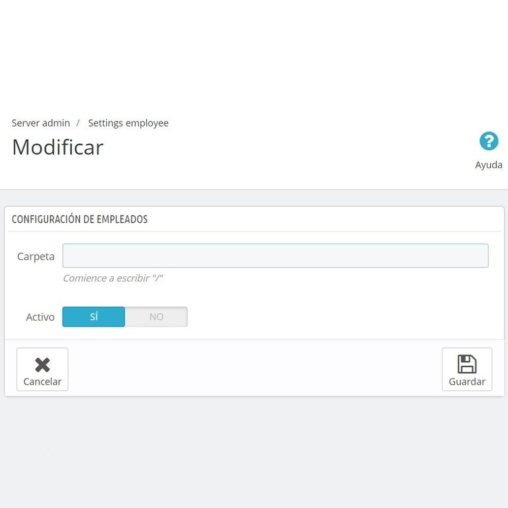 module - Herramientas Administrativas - Backoffice FTP y Shell - 6