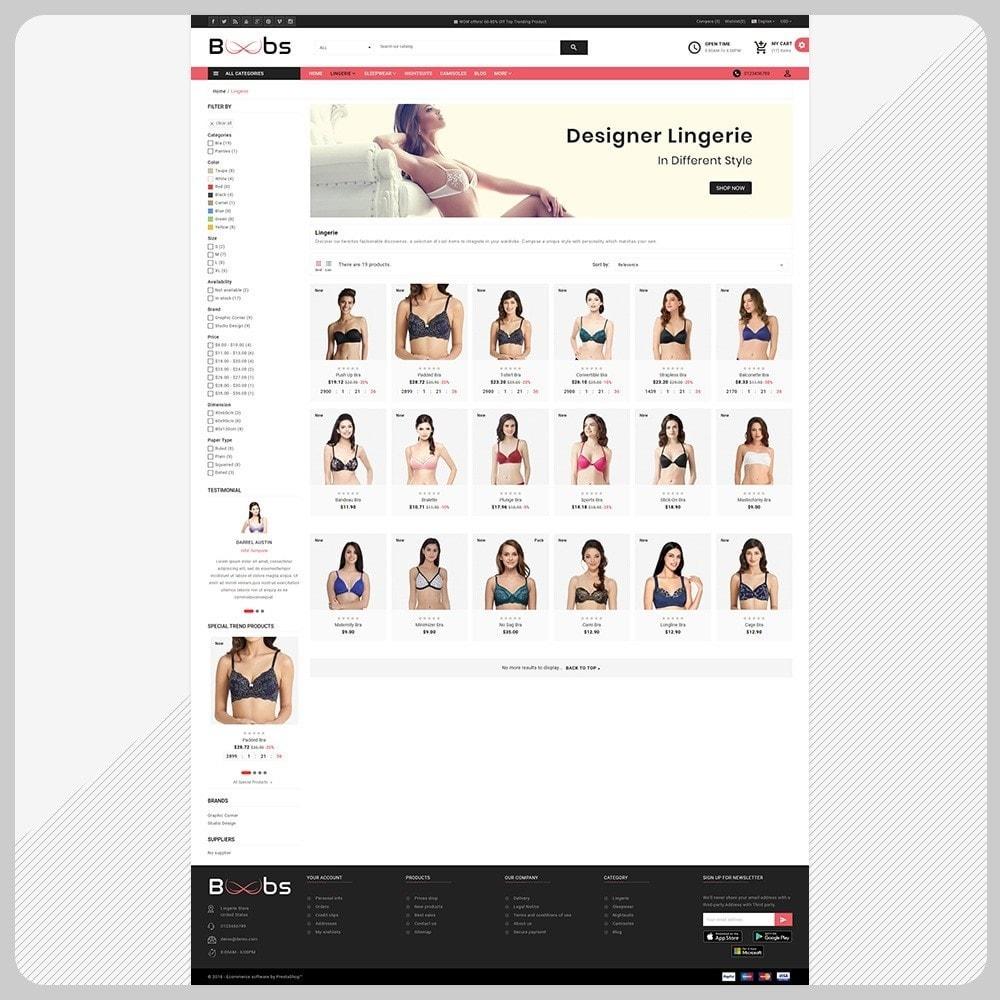 theme - Lingerie & Adult - Boobs BikiniShop – The Lingerie Mall - 3