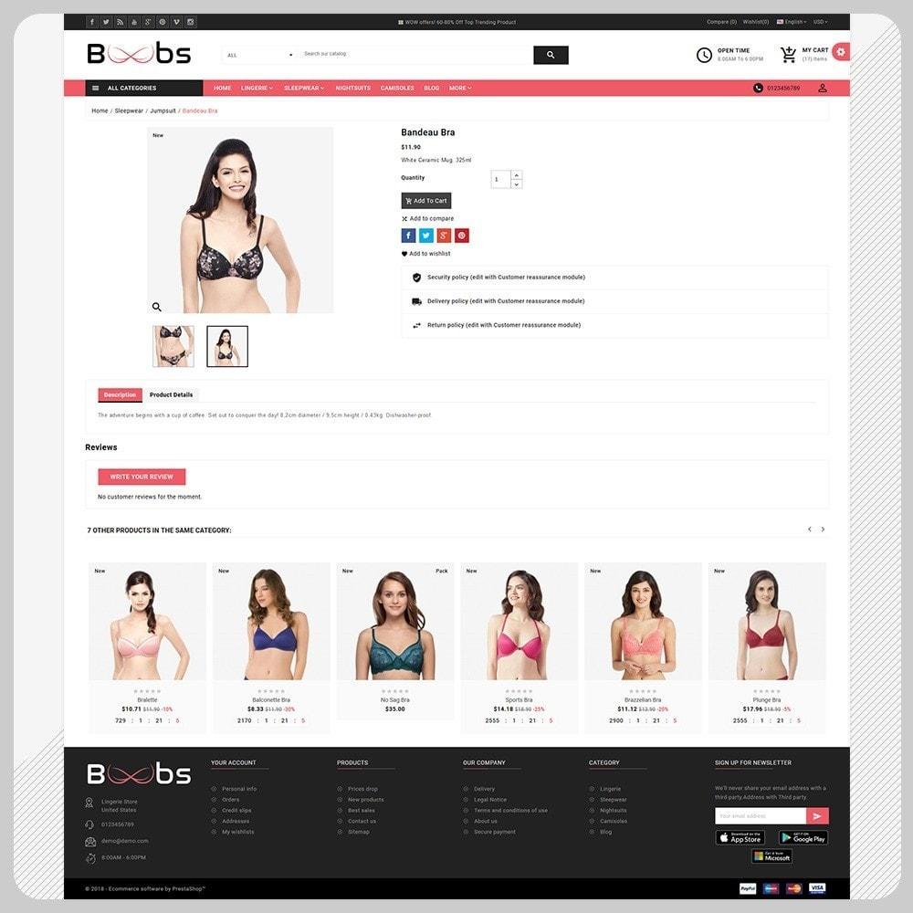 theme - Lingerie & Adult - Boobs BikiniShop – The Lingerie Mall - 4