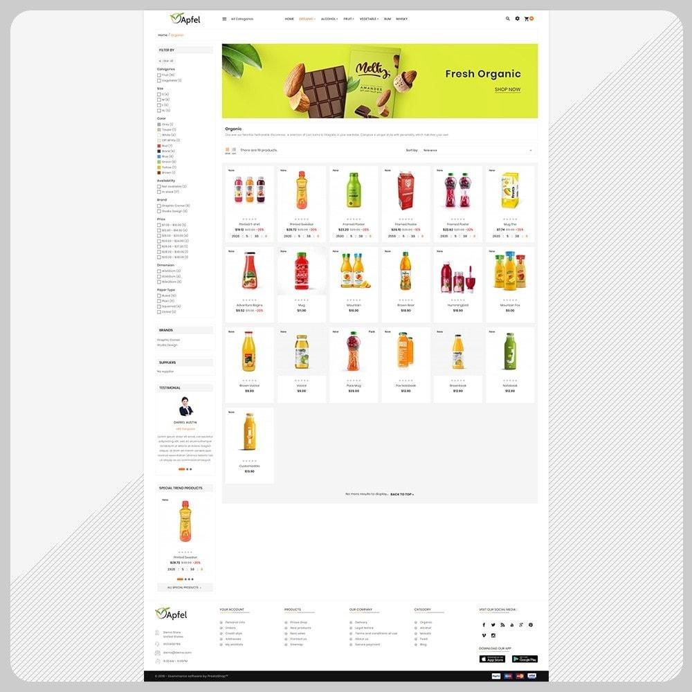theme - Casa & Jardins - Aliments– The Organic Fresh Food - 3