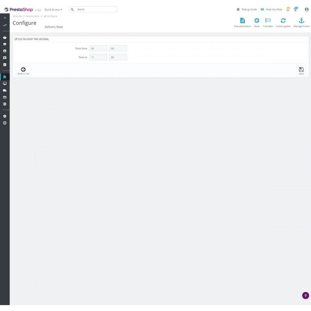module - Пункты выдачи и Получение в магазине - Advanced Delivery Date Pro - 4