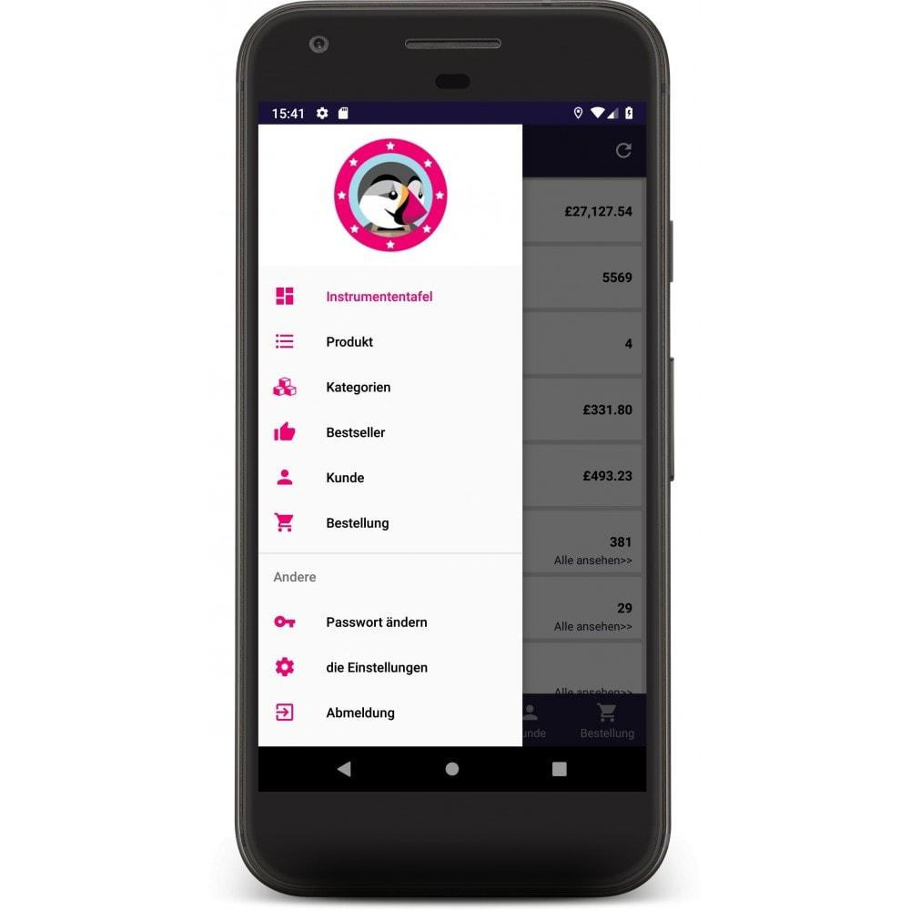 module - Dispositivos móviles - Admin Mobile App - 1