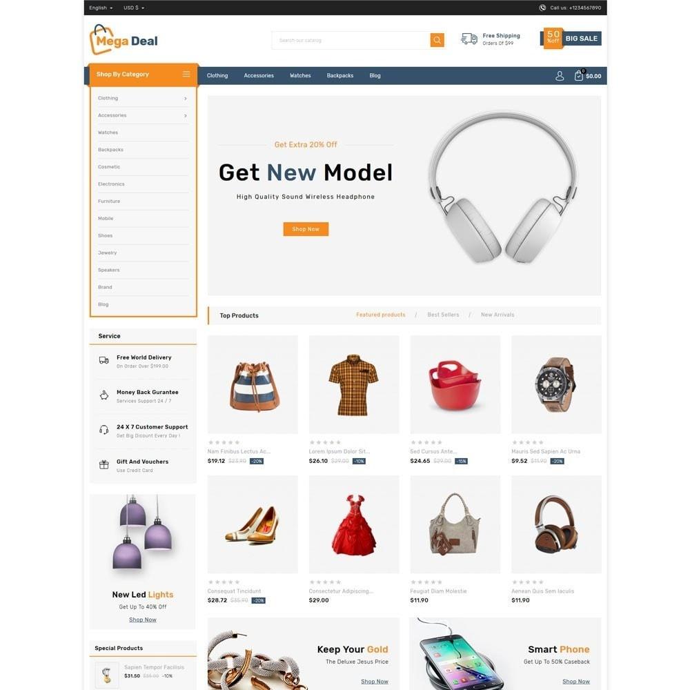 theme - Fashion & Shoes - Megadeal - Mega Store - 2