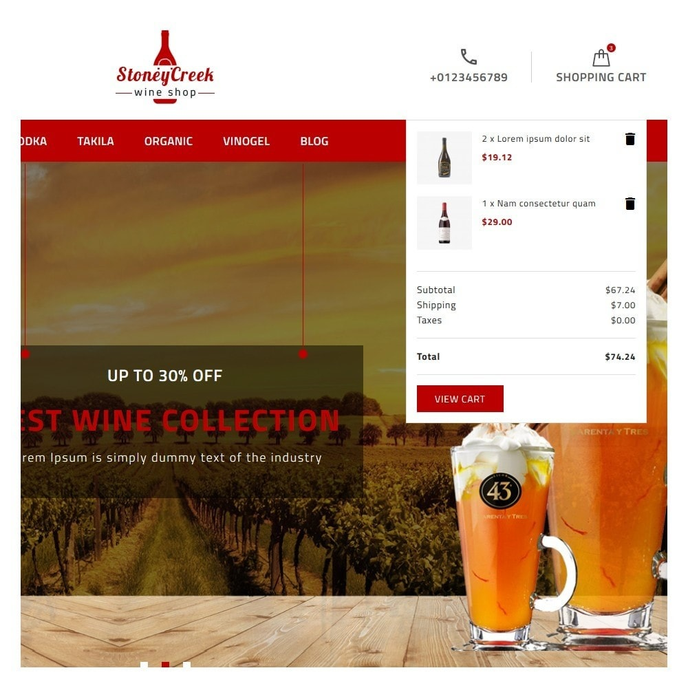 theme - Drink & Tobacco - StoneyCreek Wine Shop - 7