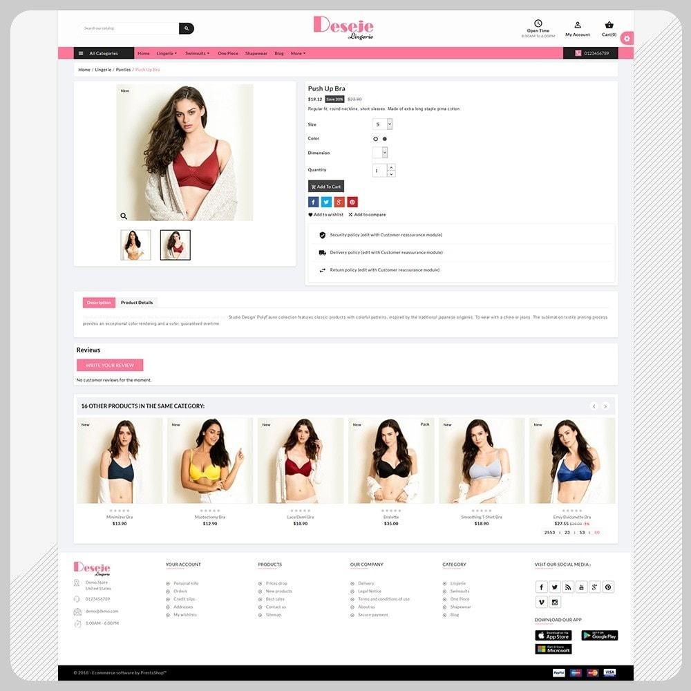 theme - Lingerie & Adulte - Deseje New Bikini – New Bikini Shop - 4