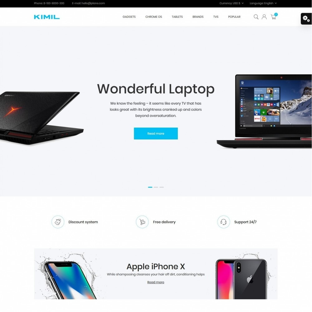 theme - Electronics & Computers - Kimil - High-tech Shop - 2