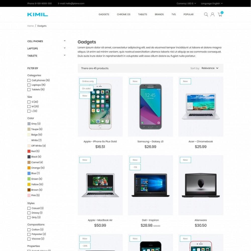 theme - Electronics & Computers - Kimil - High-tech Shop - 5
