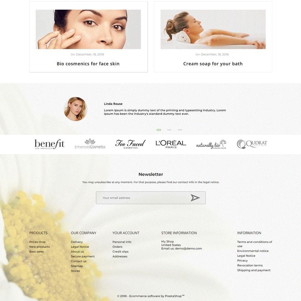 theme - Health & Beauty - Daisy Cosmetics - 4
