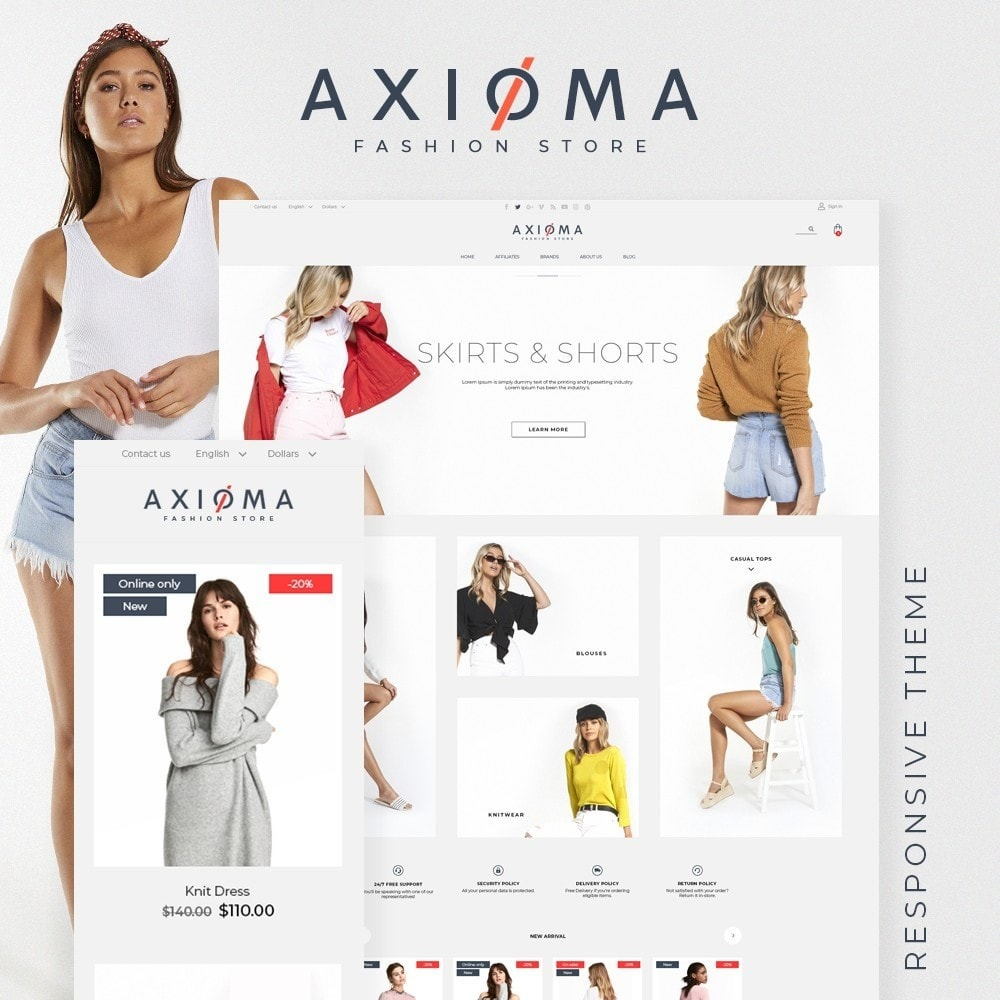 theme - Fashion & Shoes - Axioma Fashion Store - 1