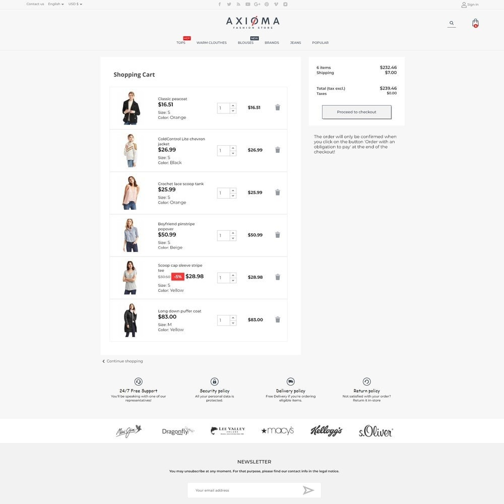 theme - Fashion & Shoes - Axioma Fashion Store - 7