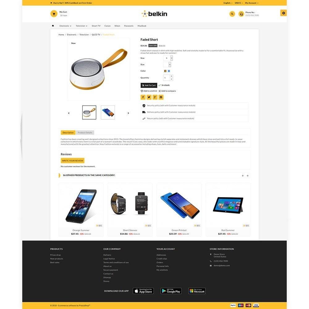 theme - Electronics & Computers - Belkin - Electronic Shop - 5