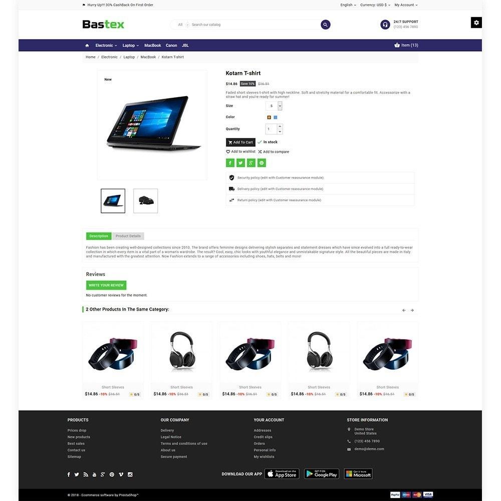 theme - Electronics & Computers - Bastax - Electronic Mega Mart - 6