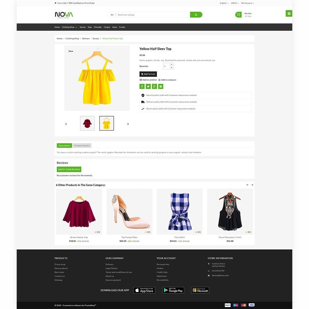 theme - Fashion & Shoes - Nova The Fashion Store - 6