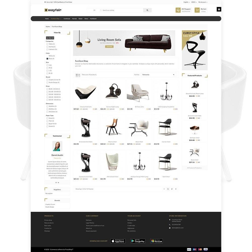 theme - Home & Garden - Wayfair Furniture  - Furniture Shop - 3
