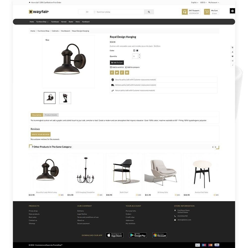 theme - Home & Garden - Wayfair Furniture  - Furniture Shop - 5