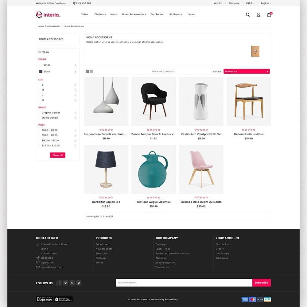 theme - Casa & Jardins - Interia -  The Furniture Store - 3