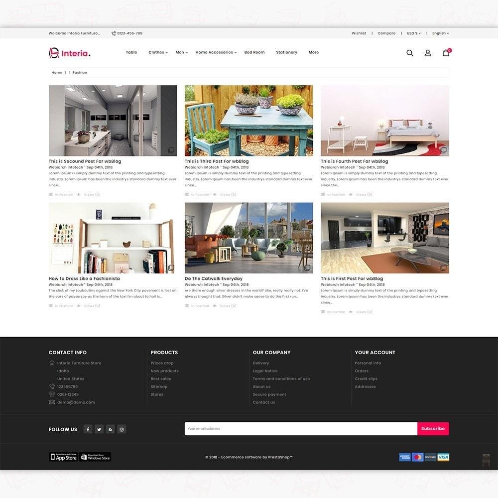 theme - Casa & Jardins - Interia -  The Furniture Store - 6