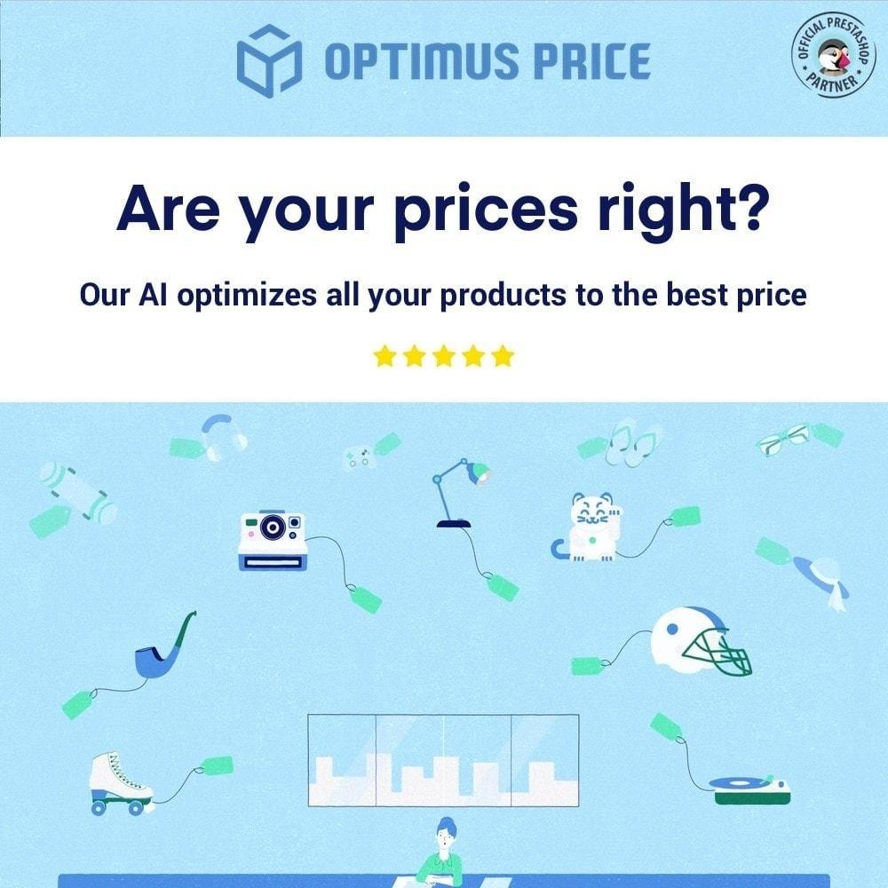 module - Gestão de preços - Set the right price with Optimus Price - 1