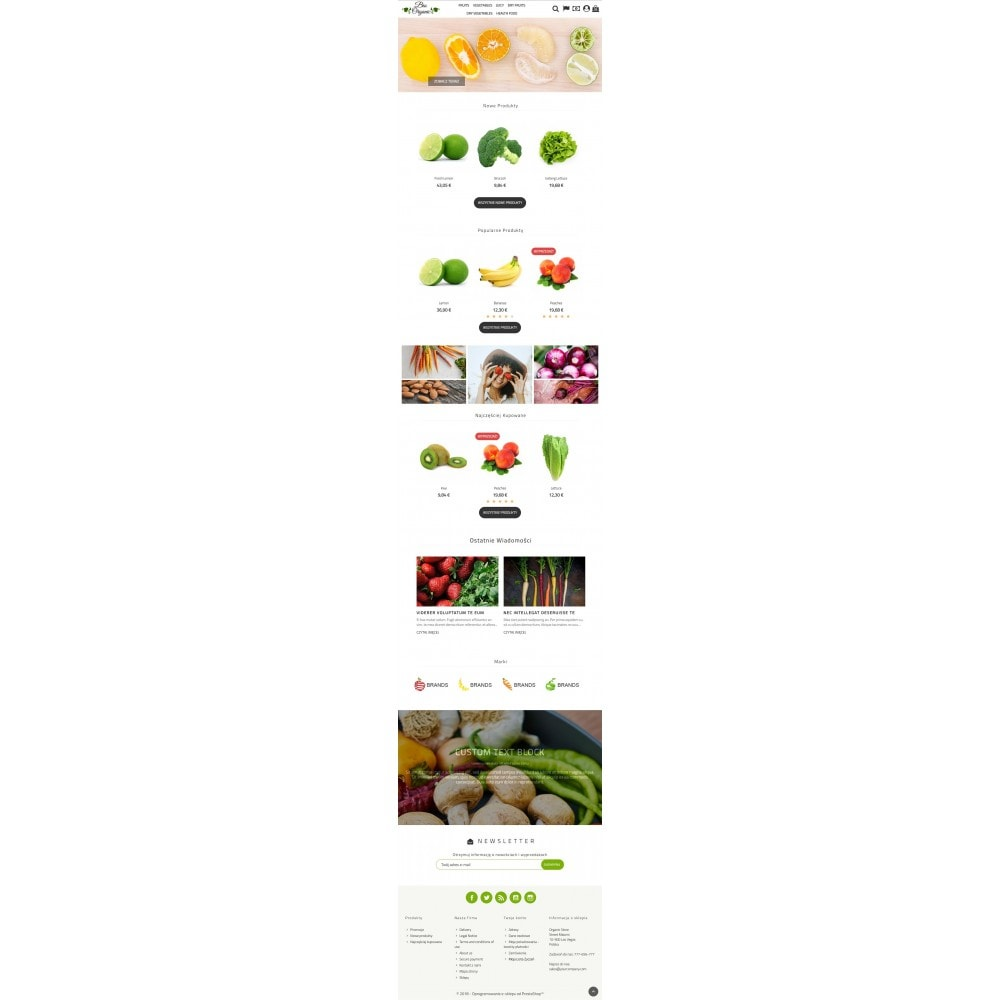 theme - Food & Restaurant - Bio Organic Store - 4
