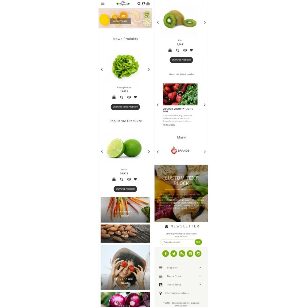 theme - Food & Restaurant - Bio Organic Store - 5
