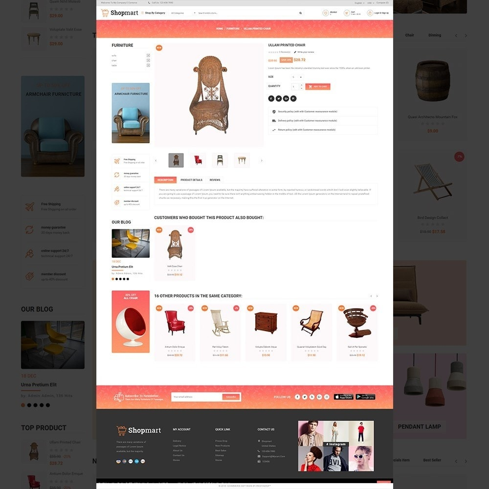 theme - Heim & Garten - Shopmart - multipurpose furniture store template - 5