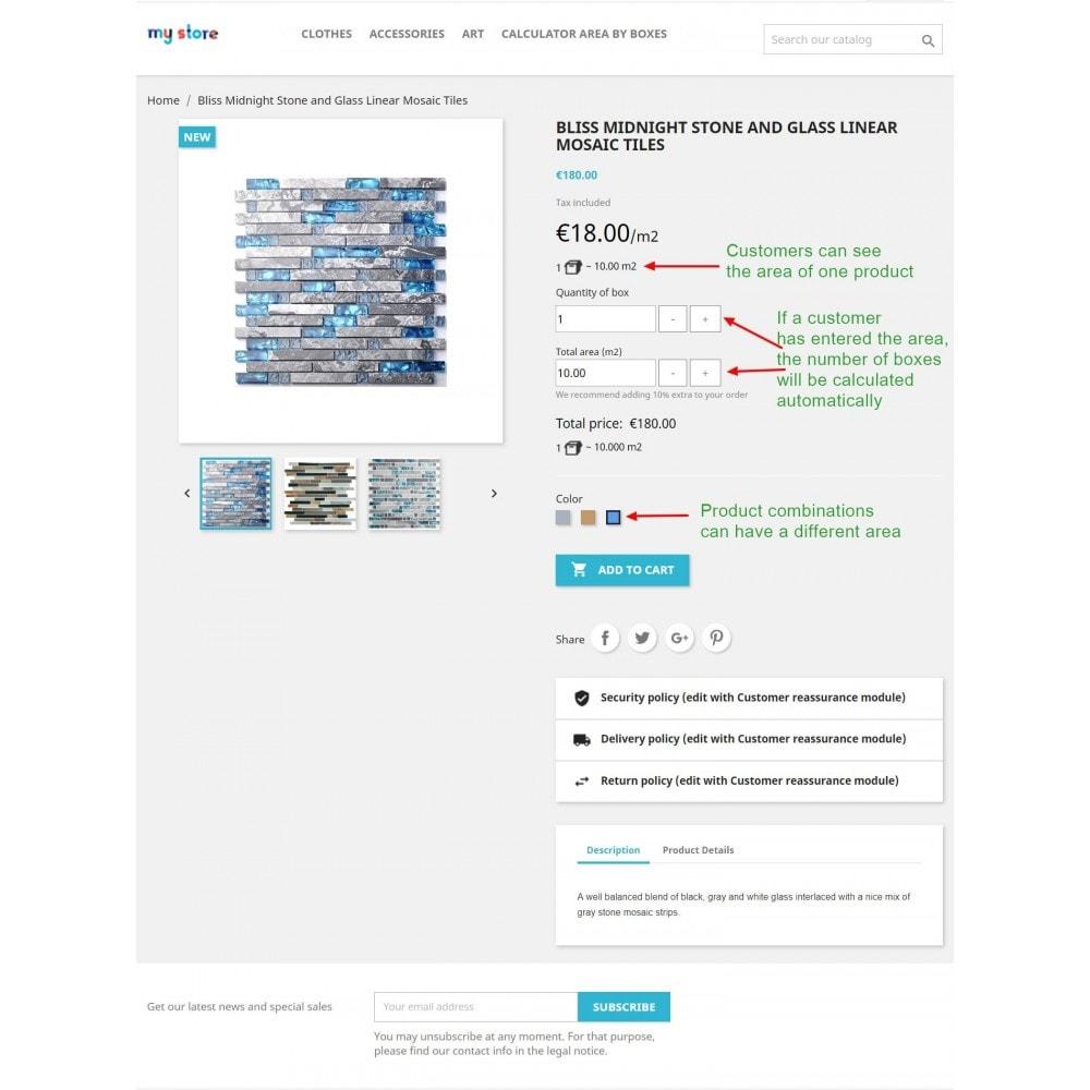 module - Размеры - Продажа коробками (упаковками) - 2