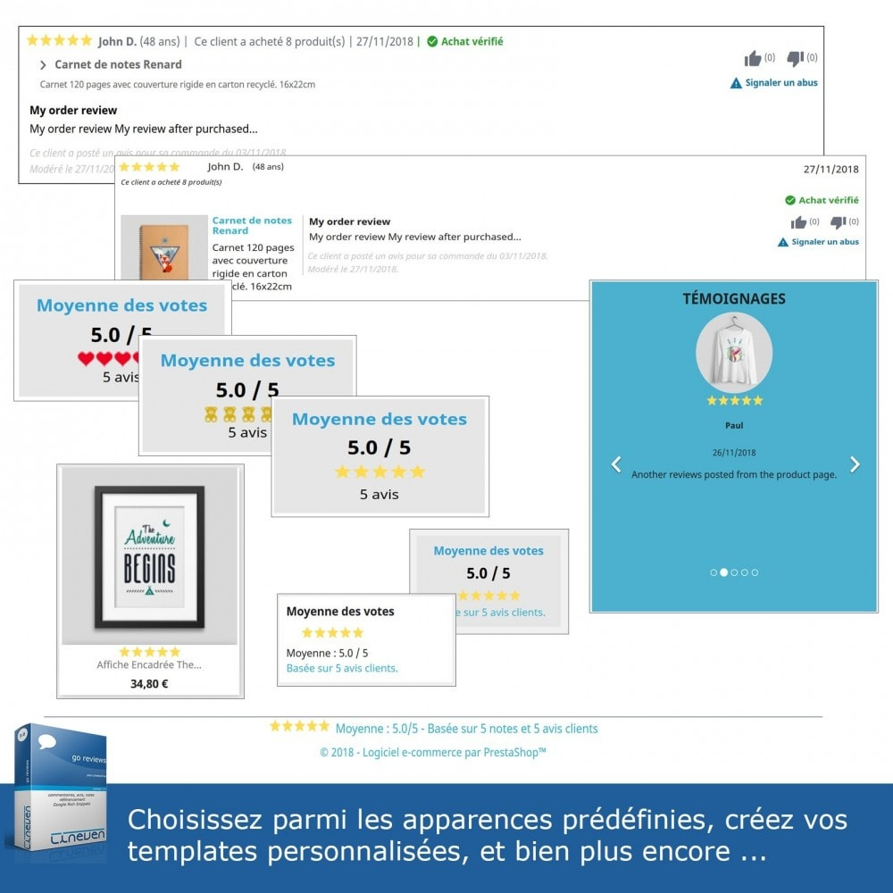 module - Avis clients - Commentaires, avis, notes, SEO et Google Rich Snippets - 7
