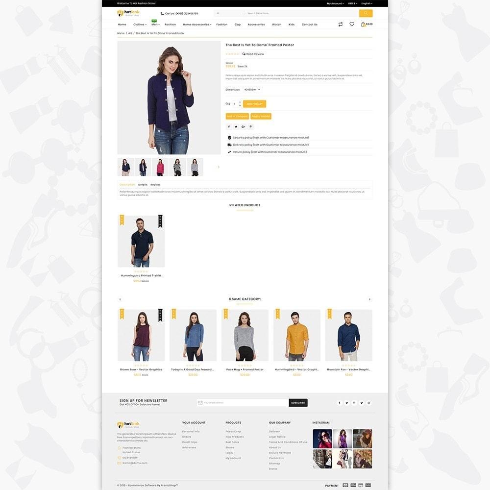 theme - Fashion & Shoes - HotLook - The Fashion Shop - 5