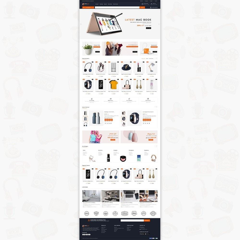 theme - Electronics & Computers - MultiZone - The Multi Shop - 2