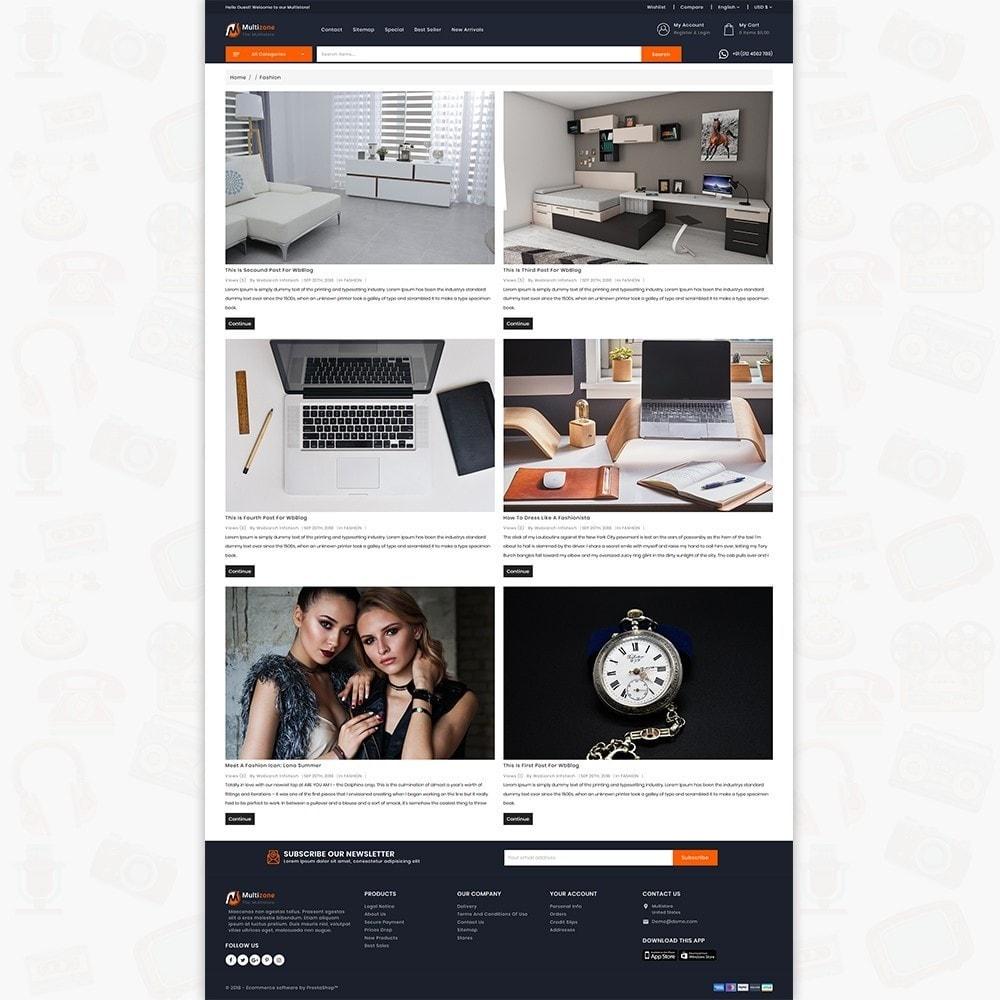 theme - Electronics & Computers - MultiZone - The Multi Shop - 6