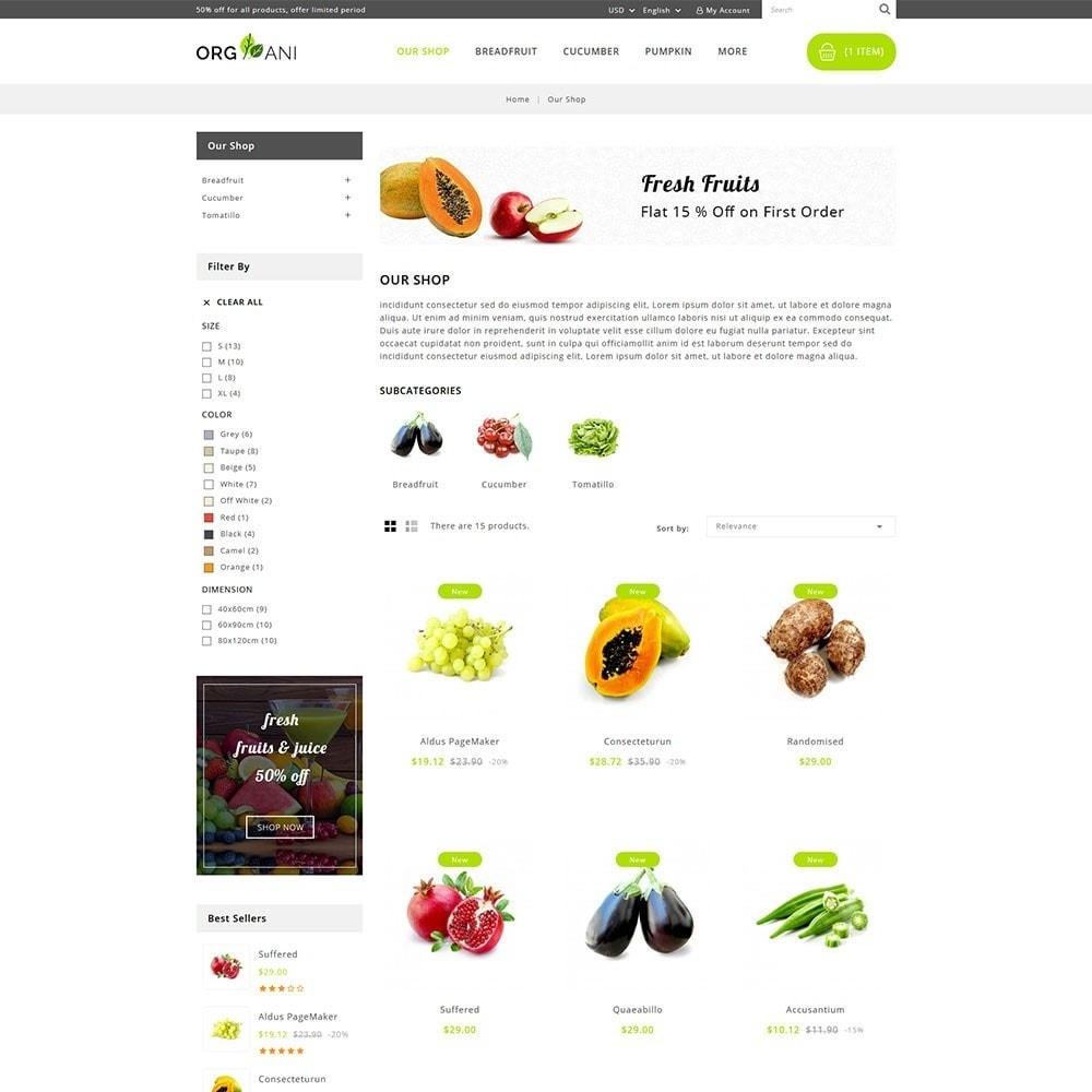 theme - Продовольствие и рестораны - Organi - The Retailer Shop - 4