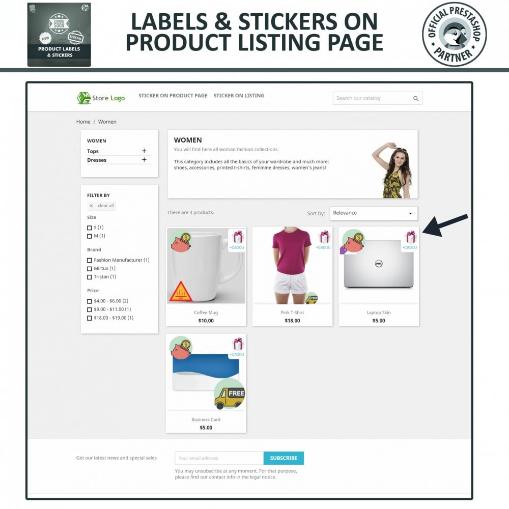 module - Badges & Logos - Product Labels & Stickers - 3