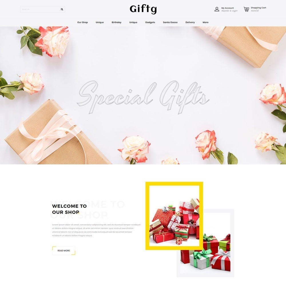 theme - Gifts, Flowers & Celebrations - Giftg - The Gift Shop - 2