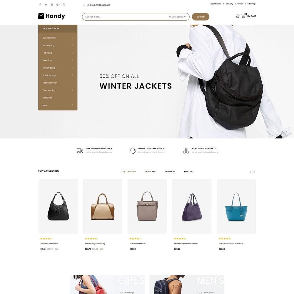 theme - Moda & Calçados - Handy Bag - The Bag Store - 2