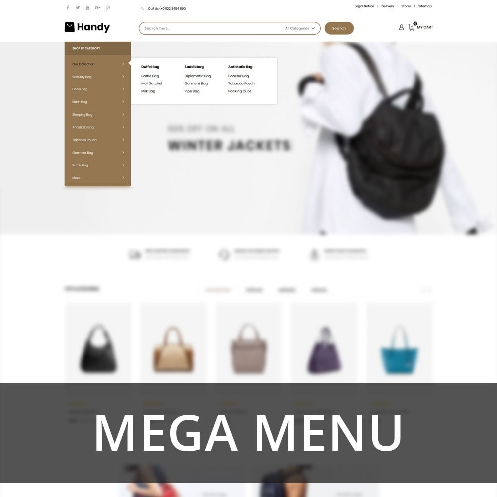 theme - Mode & Schuhe - Handy Bag - The Bag Store - 8