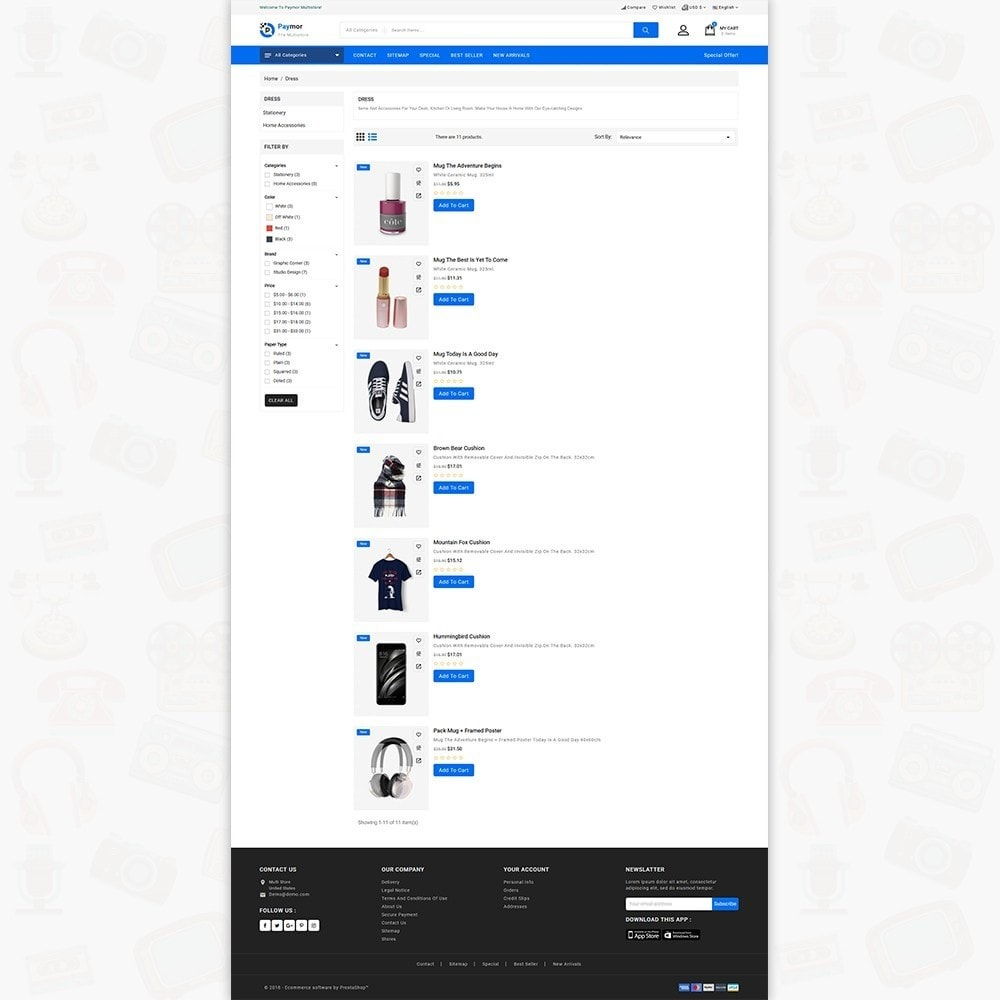 theme - Electronique & High Tech - PayMore - The Mega Ecommerce Store - 4