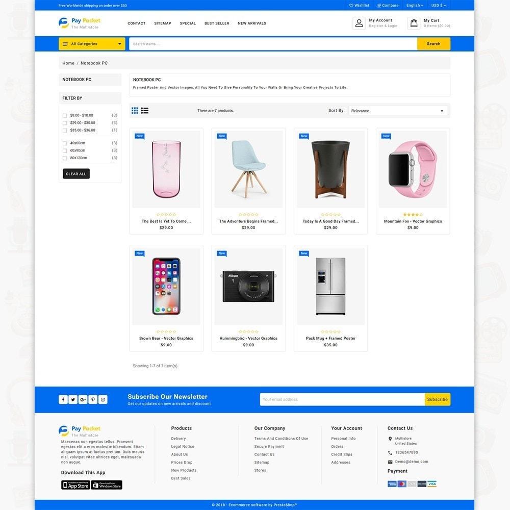 theme - Electronics & Computers - PayPocket - The Mega Ecommerce Store - 3
